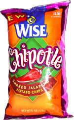 Wise Chipotle Smoked Jalapeño Potato Chips