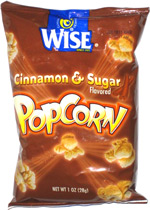 Wise Cinnamon & Sugar Popcorn