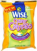 Wise Crazy Calypso Sweet & Spicy Caribbean Style Potato Chips