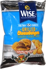 Wise Food Truck Favorites Grilled Cheeseburger Flavored Potato Chips