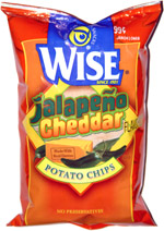 Wise Jalape�o Cheddar Potato Chips