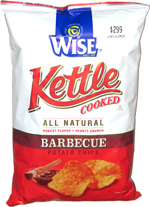 Wise Kettle Cooked Barbecue Potato Chips