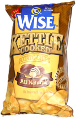 Wise Kettle Cooked Potato Chips All Natural