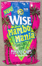 Mambo Mania Sweet & Spicy Flavor Potato Chips