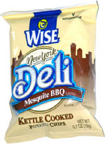 Wise New York Deli Mesquite BBQ Kettle Cooked Potato Chips