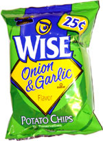 Wise Onion & Garlic Potato Chips