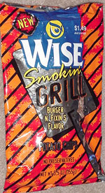 Wise Smokin' Grill Burger N Fixin's Flavor Potato Chips