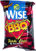 Wise Smoky Mountain BBQ Potato Chips