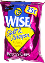 Wise Salt & Vinegar Potato Chips
