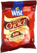 Wise Choice Mesquite BBQ Baked Soy-Potato Crisps