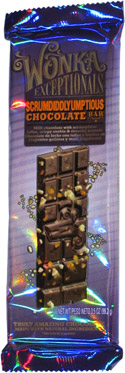 Wonka Exceptionals Scrumdiddlyumptious Chocolate Bar