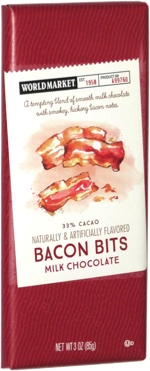 World Market Bacon Bits Milk Chocolate