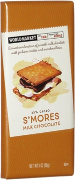 World Market 33% Cacao S'mores Milk Chocolate