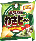 Yamayoshi Wasabee Potato Chips