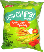 Yes! Chips! Rice Veggie Puffs