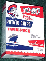 Yo-Ho Famous Natural Potato Chips