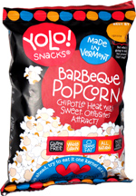 Yolo! Snacks Barbeque Popcorn