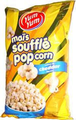 Yum Yum Cheddar Popcorn