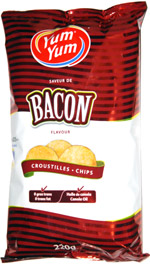Yum Yum Bacon Chips