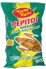 Yum Yum Pepitos Bar-B-Q Corn Chips
