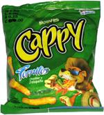 Cappy Tornitos Cheddar y Jalapeño