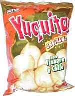 Yummies Yuquitas Crujientes Con Vinagre y Chile
