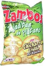 Yummies Zambos Tajaditas de Plátano