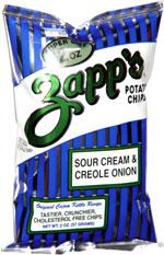 Zapp's Sour Cream & Creole Onion Potato Chips