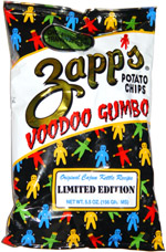 Zapp's Potato Chips Voodoo Gumbo