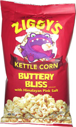 Ziggy's Kettle Corn Buttery Bliss with Himalayan Pink Salt