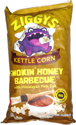Ziggy's Kettle Corn Smokin' Honey Barbecue with Himalayan Pink Salt