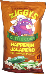 Ziggy's Kettle Corn Happenin' Jalapeño with Himalayan Pink Salt