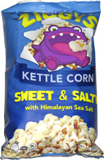 Ziggy's Kettle Corn Sweet & Salty with Himalayan Sea Salt