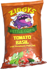 Ziggy's Kettle Corn Tomato Basil with Himalayan Pink Salt