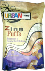 Urban Tribe Zing Puffs Parmesan & Caramelized Onions