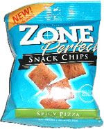 ZonePerfect Snack Chips Spicy Pizza