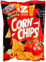 Zwiefel Sunny Tomato Corn Chips