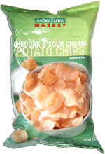 Archer Farms Cheddar & Sour Cream Potato Chips