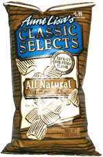 Aunt Lisa's Classic Selects All Natural Hearty Potato Chips