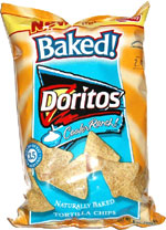 Doritos Baked! Cooler Ranch Tortilla Chips