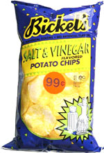 Bickel's Salt & Vinegar Potato Chips