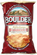 Boulder Potato Company Hickory Barbecue Intense Potato Chips