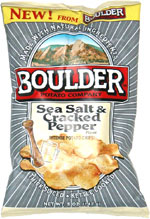 Boulder Sea Salt & Cracked Pepper Intense Potato Chips