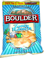 Boulder Potato Company Zesty Ranch Intense Potato Chips