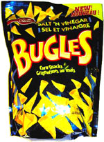 Bugles Salt & Vinegar Corn Snacks