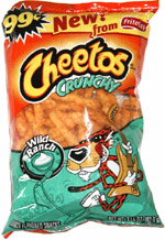 Cheetos Crunchy Wild Ranch