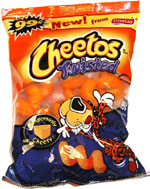 Cheetos Twisted Cheese Flavored Snacks