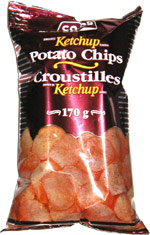 Co-op Ketchup Potato Chips (Croustilles Ketchup)