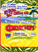 Byron Bay Chilli Co Natural Toasted Cornchips