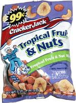 Cracker Jack Tropical Fruit & Nuts